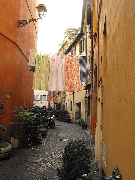 Прогулки по Риму – Район Трастевере