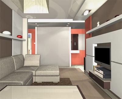 Профессиональный дизайн квартиры можно заказать на сайте Des-Mark.ru