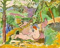 Шаблоны и темы Пикассо, Модильяни, Поллок в интерпретации детей